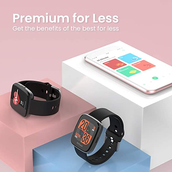FITTRACK Atria Fitness Watch – Sport Workout Smart Watch – Fit Watch for Women, Men, Kids – Track Heart Rate, Sleep, Breathing