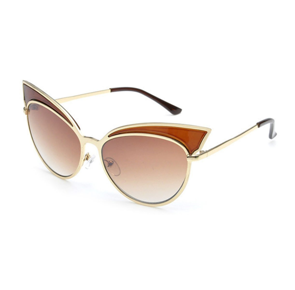 HAOYUXIANG Outdoor Mode Metall Farbe Film Sonnenbrille,C4