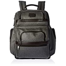 TUMI T-Pass Business Class Brief Multipurpose Backpack, Earl Grey, One Size