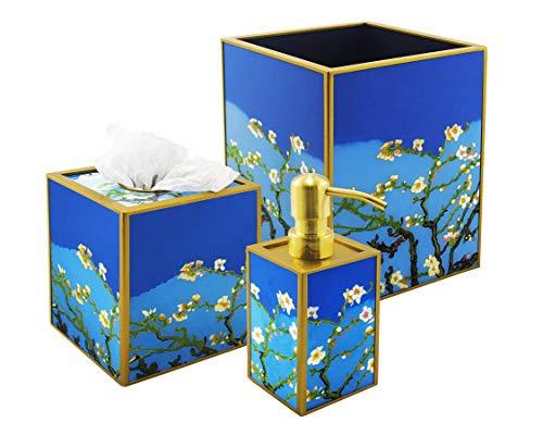3-piece bath set - Van Gogh : Amandier en fleurs ()