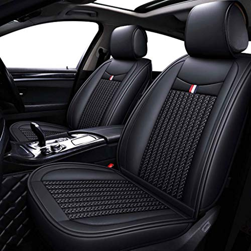 GZTYLQQ Car Seat Covers Set Leather, Universal 5 Seats Seat Cushions for the front seats and rear seat Seats (Color : Black): Amazon.co.uk: Sports & Outdoors