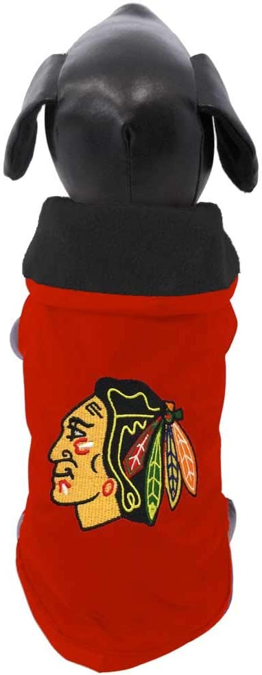 All Star Dogs Chicago Blackhawks Pet Outerwear Jacket