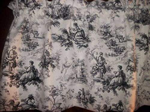 Amazon Com Toile Black Gray Chicken Rooster Waverly