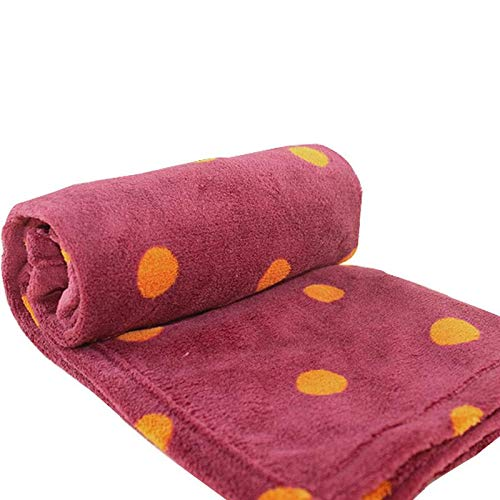 Zerhey Breathable Soft Warm Flannel Pet Pad Mat Dog Bed Cover Quilt for Dogs and Cats Blanket Puppy Cushion