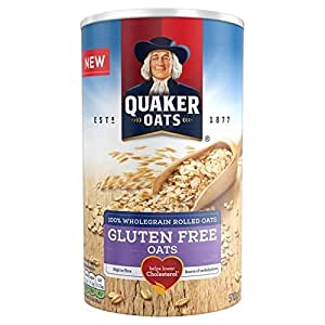 La Avena Quaker Avena Sin Gluten 510G Libre (Paquete de 2 ...