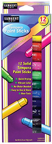Sargent Art 93 2112 Assorted Tempera
