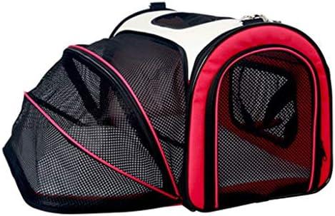 キャットバッグペットバッグキャットケージポータブルバッグショルダー肩ポータブルポータブル犬のバックパックスペースバッグ本パッケージング猫用品 (Color : B)
