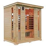 Vital Saunas Canadian Hemlock Premier Four Sauna