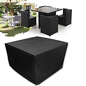 Furniture cover aulola big fitted cube cover for outdoor garden furniture cover aulola big fitted cube cover for outdoor garden rattan furniture waterproof dustproof snowproof workwithnaturefo