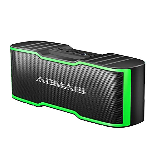 AOMAIS Sport II Mini Portable Bluetooth Speakers, HD Sound and Enhanced Bass, Wireless Stereo Pairing, 15 Hours Playtime, IPX5 Water-Resistant Speakers for Travel, Beach, Shower