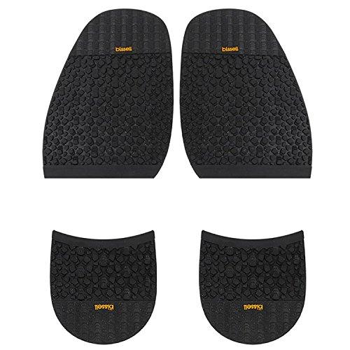 Suela de Goma tamaño mediano 2,5mm y tacón 8.0mm Para Reparación de zapatos grande