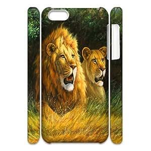 C-Y-F-CASE DIY Design Lion Pattern Phone Case For iPhone 5C