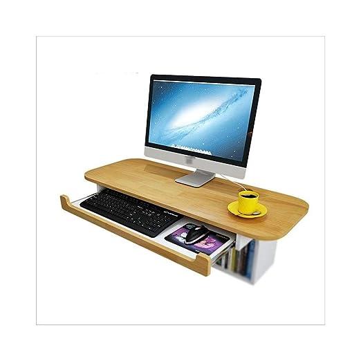 LPYMX Escritorio de Pared nórdico de la computadora, Mesa de Pared ...