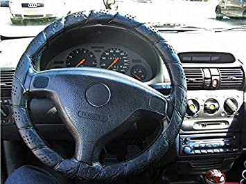 Steering Wheel Cover  Classic Grey Lace