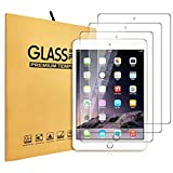 "iPad 9.7"" Screen Protector,IccTee [3-Pack] HD Clear Premium 9H Hardness Fingerprint Tempered Glass for iPad Air / Air2 / Pro"