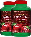 Mega Potency Apple Cider vinegar 600 mg 2 Bottles x 200 Capsules