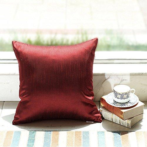 Silk Decorative Toss Pillow - 2