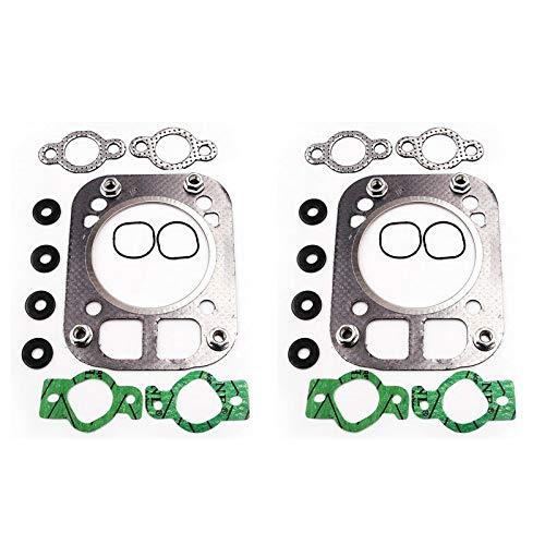 FidgetKute 2 Sets Head Gasket Kit for Kohler CH25 CH730 CH740 24-841-04S 24 841 03S Unique