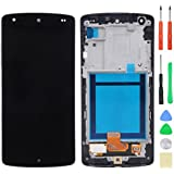 LCD Touch Screen Digitizer and Frame Assembly for LG Google Nexus 5 D820 D821