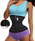 Product review for Gotoly Womens Workout Waist Trainer Corset Zipper Hooks Slimming Body Shaper