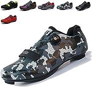 Maxome Men's Cycling Shoes,Road Bike Shoes Men,Men Indoor Road Racing Bikes Shoes,Cleat Men SPD Shoes,Bike
