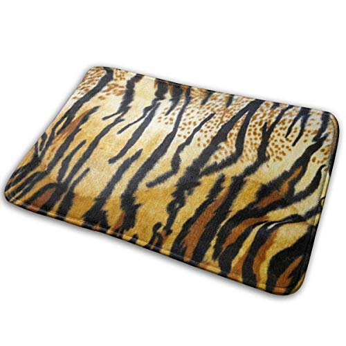 BestgoodsLTD Tiger Skin Texture Entrance Mat Floor Mat Home Decor Carpet Indoor Rectangle Doormat Kitchen Mats