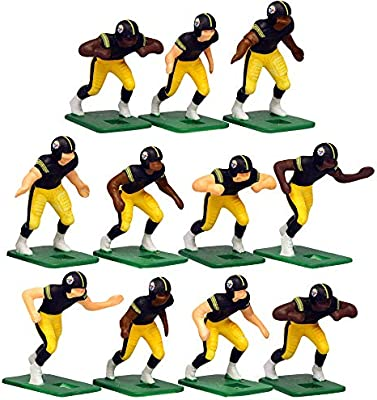 best service 3a07b 94d71 Pittsburgh Steelers Home Jersey NFL Action Figure Set