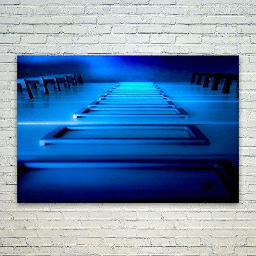 Westlake Art Poster Print Wall Art - Blue Test - Modern Pict