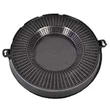 Spares2go Type 48 Charcoal Carbon Filter For Privileg Cooker Hood Vent (CHF037, 235 x 29 mm)