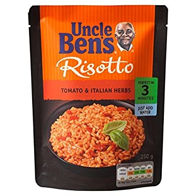 Uncle Bens Risotto De Tomate Y Hierbas 250g De Arroz ...