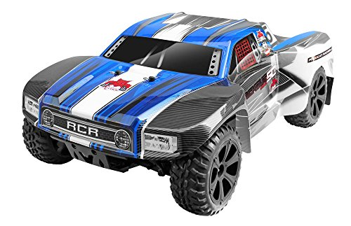 - Redcat Racing Blackout SC PRO 1/10 Scale Brushless Electric Short Course Truck with Waterproof Electronics Vehicle, Blue