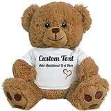 teddy bear that says i love you - Cute Custom Teddy Bear Gift: 8 Inch Teddy Bear Stuffed Animal