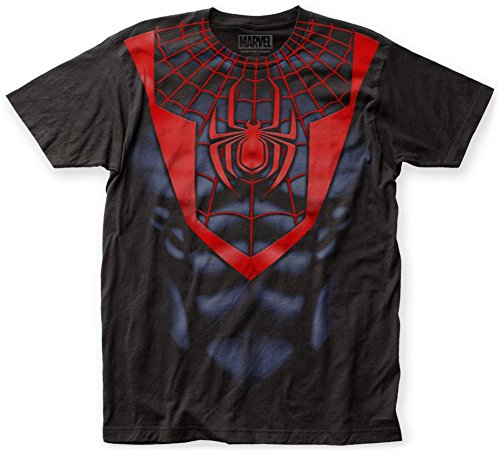Spider-Man- Miles Morales Costume Tee T-Shirt Size S