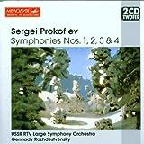 Prokofiev : Symphonies N 1, 2, 3 & 4; Hamlet Op. 77