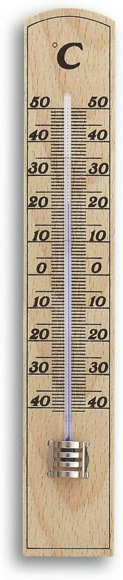 TFA 12.1004 - Termómetro de Interior Madera