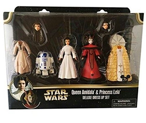 (Star Wars Queen Amidala & Princess Leia Deluxe Dress Up)