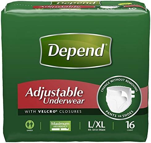 Depend Adjustable Underwear Maximum Absorbency product image