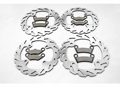 Polaris 570 RZR Front and Rear Sport Brake Rotors and Brake Pads