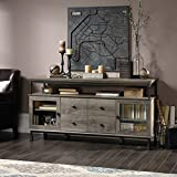 """built in entertainment centers 60"""" Entertainment Center, Large Shelf with Built-in USB Ports, Full Extension Drawers, Adjustable Shelf Behind Each Door, Ample Storage Space, Sturdy Engineered Wood Construction, Northern Oak Finish"""