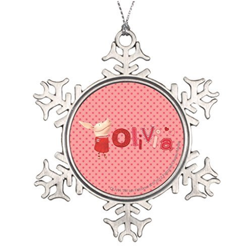 Amazon.com: Liz66Ward Wintercome Olivia The Pig Cute Thanksgiving Snowflake Christmas  Ornaments Pewter Novelty Funny Christmas Decorations for Tree for ... - Amazon.com: Liz66Ward Wintercome Olivia The Pig Cute Thanksgiving