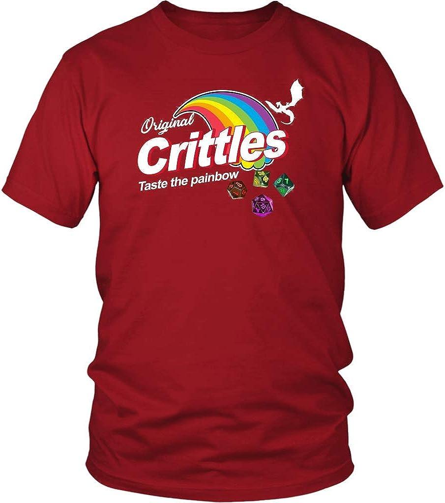 Bingeprints Crittles Taste The Painbow DND T-Shirt