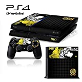 Ci-Yu-Online VINYL SKIN [PS4] JoJo's Bizarre Adventure #1 Black Whole Body VINYL SKIN STICKER DECAL COVER for PS4 Playstation 4 System Console and Controllers For Sale