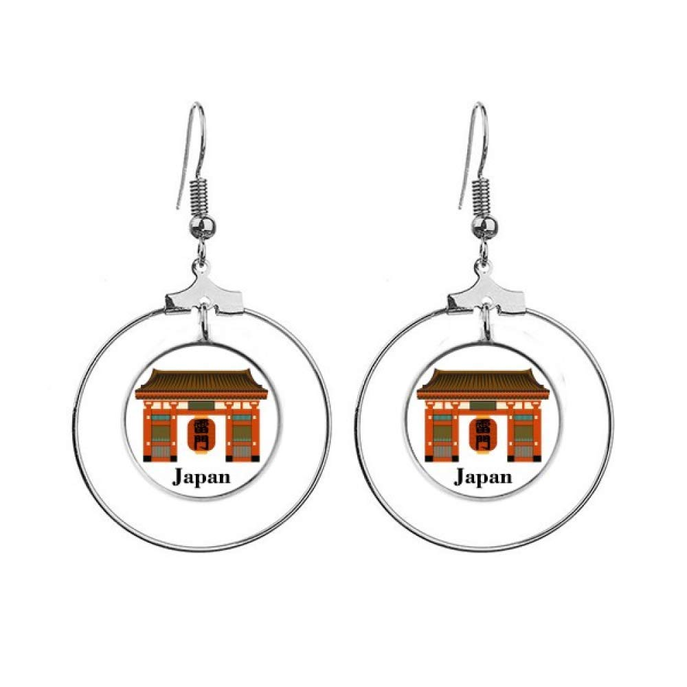 Chinese Temple Earrings