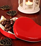 Red Heart Metal Tins (12-Pack); 2.75-Inch Heart-Shaped Containers for Favors, Gifts, Candles & Arts & Crafts