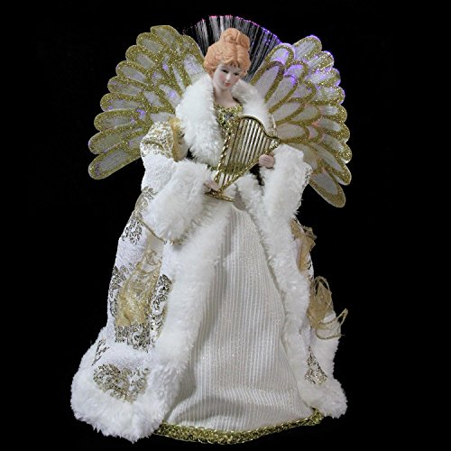 Northlight NL00919 Fiber Optic Angel in Gown Christmas Tree Topper by Northlight (Image #2)