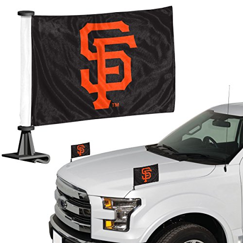 ProMark MLB San Francisco Giants San Fransisco Giants Flag Set 2Piece Ambassador Stylesan Fransisco Giants Flag Set 2Piece Ambassador Style, Team Color, One Size