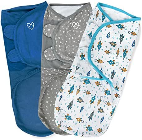 SwaddleMe Original Swaddle 3-PK, Superstar (LG)