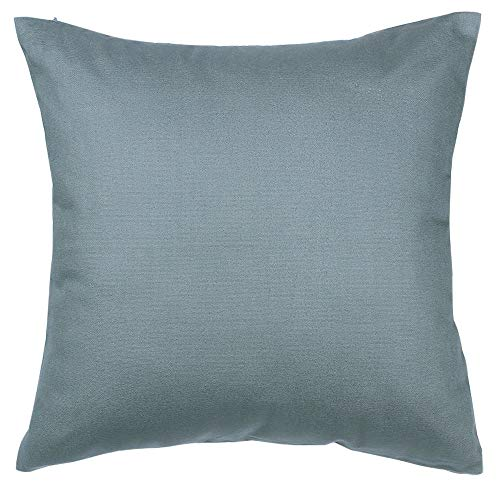 - TangDepot Handmade Decorative Solid 100% Cotton Canvas Throw Pillow Covers/Pillow Shams, (14