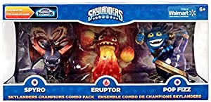 Skylanders Imaginators, Exclusive Champions Combo Pack (Spyro, Eruptor and Pop Fizz)
