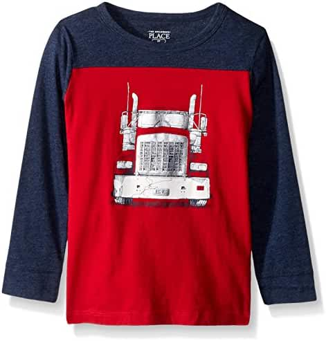 The Children's Place Baby Boys' Long Sleeve Graphic Tee